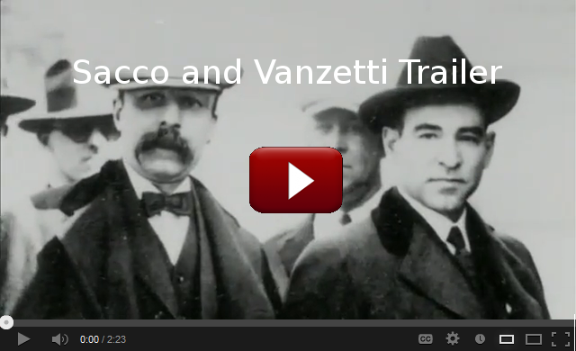 Sacco and Vanzetti Trailer