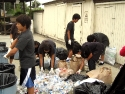 110723 VHBT Sangha Teens Recycling 005