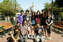Sangha Teens at Disneyland