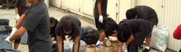Sangha Teens Recycling Day