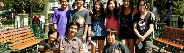 Sangha Teen Disneyland Trip