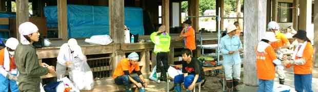 A Brief Report on Volunteer Activities in Japan, August 2011