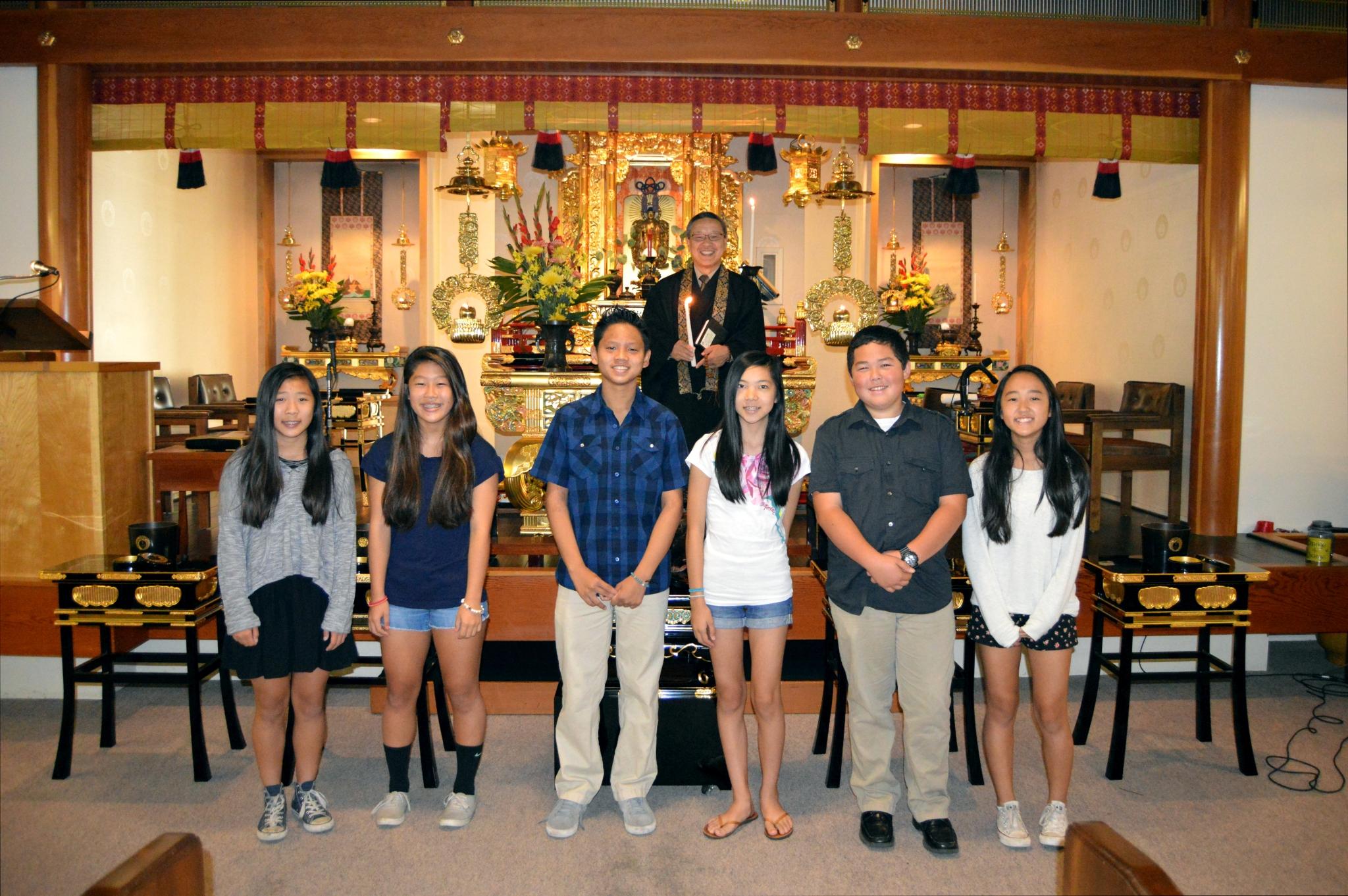 2014 Sangha Teens Installation
