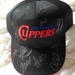 Autographed cap