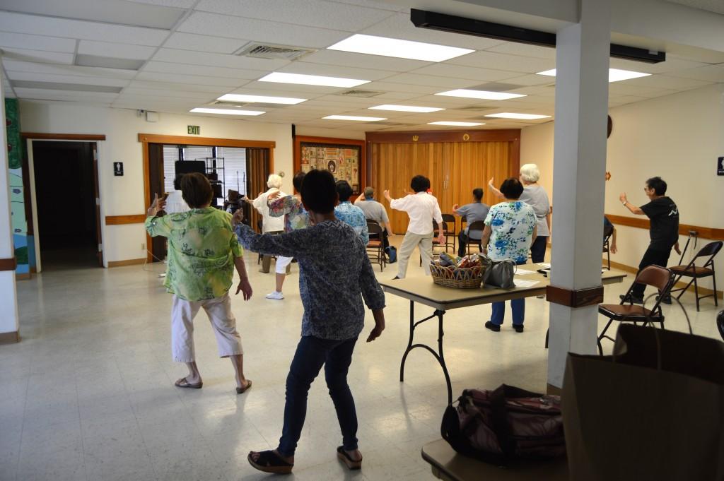 Senior Outreach Tai Chi Class