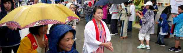 It Rained on Our Parade! OBON!