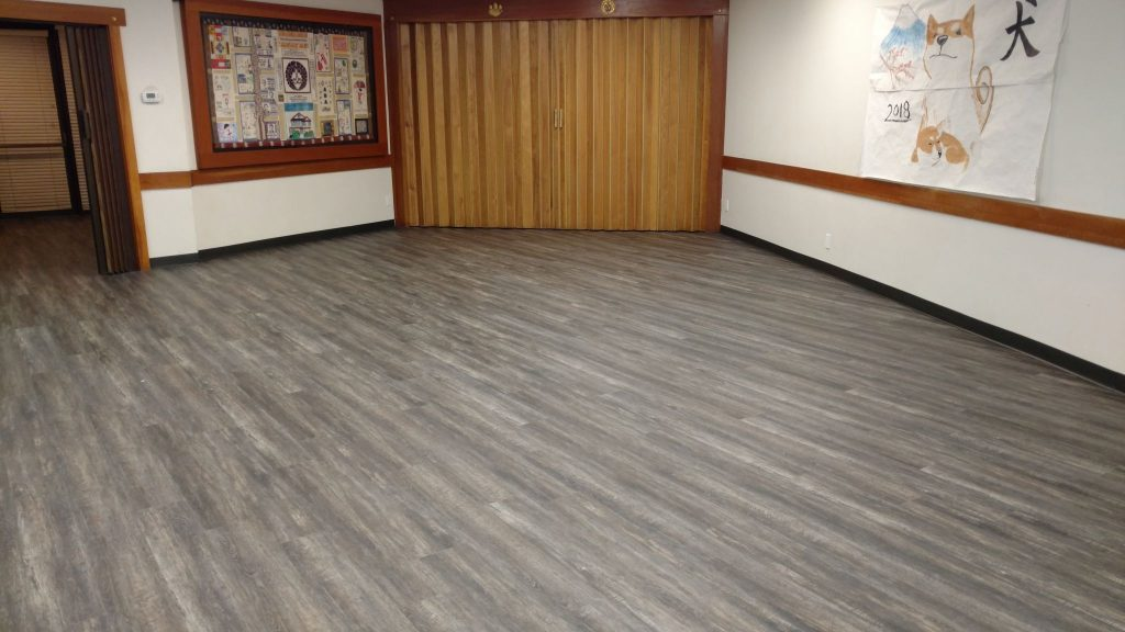 New Flooring in Social Hall
